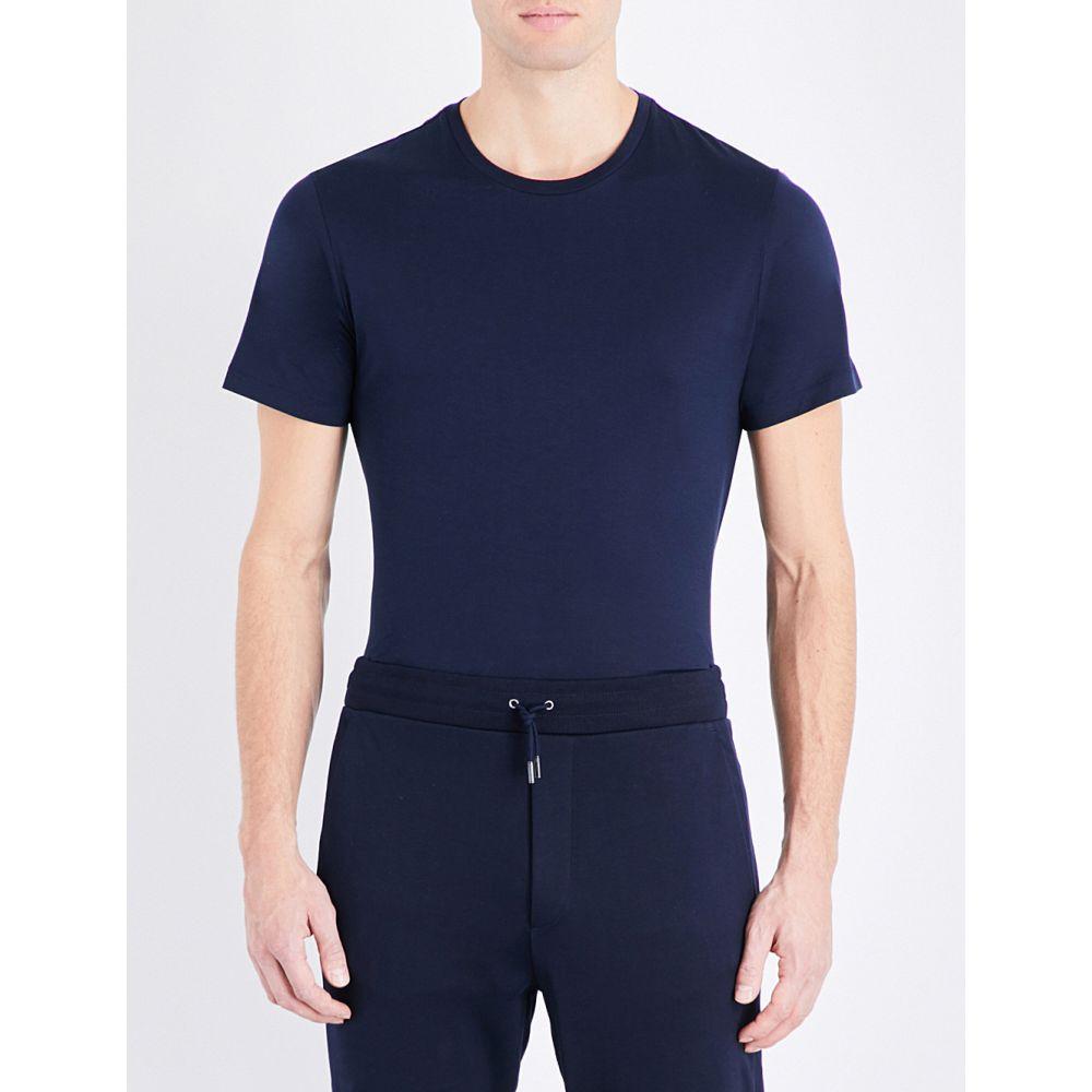 ラルフ ローレン ralph lauren purple label メンズ トップス Tシャツ【crewneck cotton-jersey t-shirt】Classic chairma