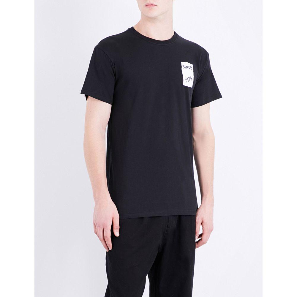 ボーイロンドン boy london メンズ トップス Tシャツ【eagle-print cotton-jersey t-shirt】Black