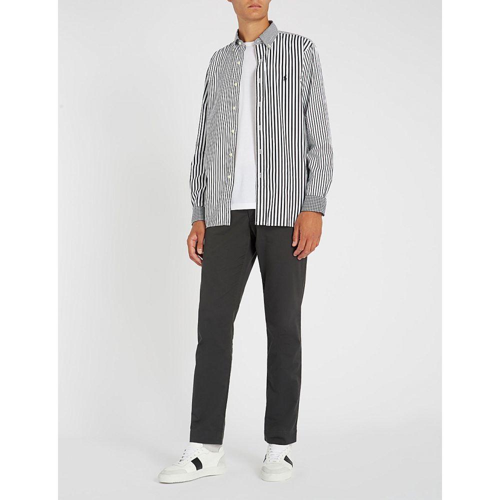ラルフ ローレン polo ralph lauren メンズ トップス シャツ【stripe-and-check slim-fit cotton shirt】funshirt