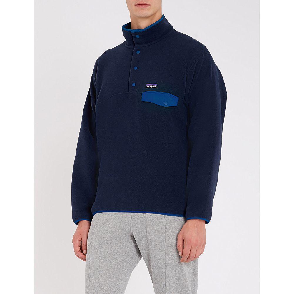 パタゴニア patagonia メンズ トップス フリース【synchilla snap-t fleece jacket】Navy blue