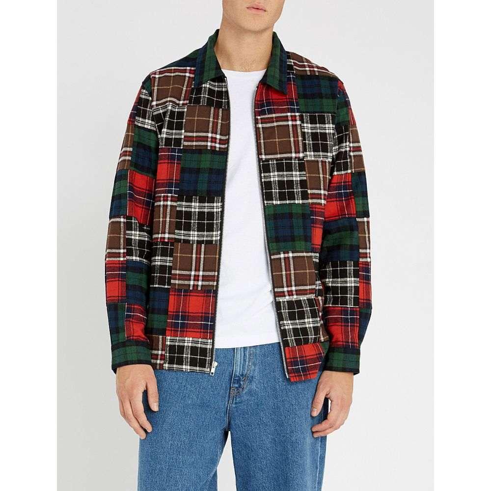 ステューシー stussy メンズ トップス シャツ【relaxed-fit patchwork checked cotton-flannel shirt】Plaid