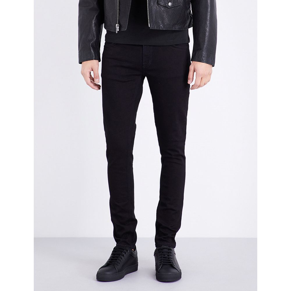 ヌーディージーンズ nudie jeans メンズ ボトムス・パンツ ジーンズ・デニム【skinny lin slim-fit skinny jeans】Black black