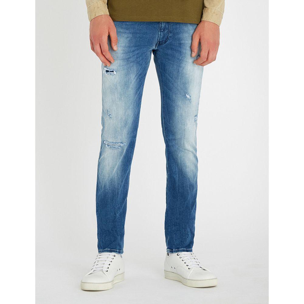 リプレイ replay メンズ ボトムス・パンツ ジーンズ・デニム【anbass hyperflex slim-fit skinny jeans】Mid wash