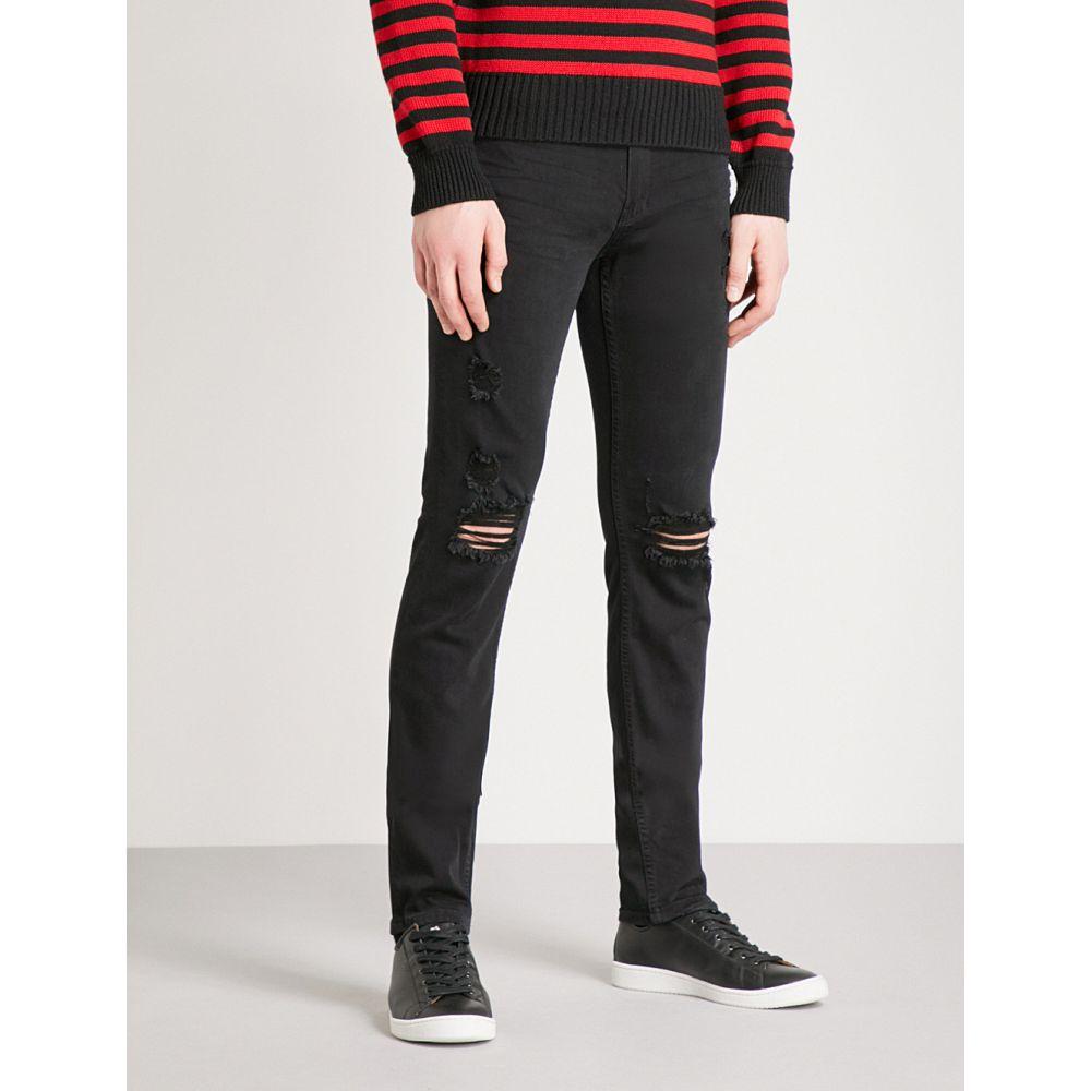 paige ペイジ メンズ skinny ボトムス・パンツ jeans】Black ジーンズ・デニム【croft