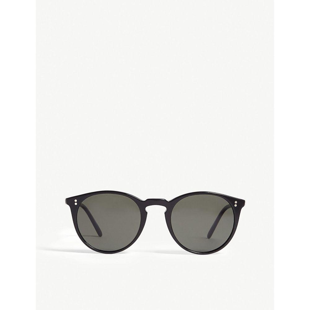 オリバーピープルズ oliver peoples メンズ メガネ・サングラス【o'malley round-frame sunglasses】Black