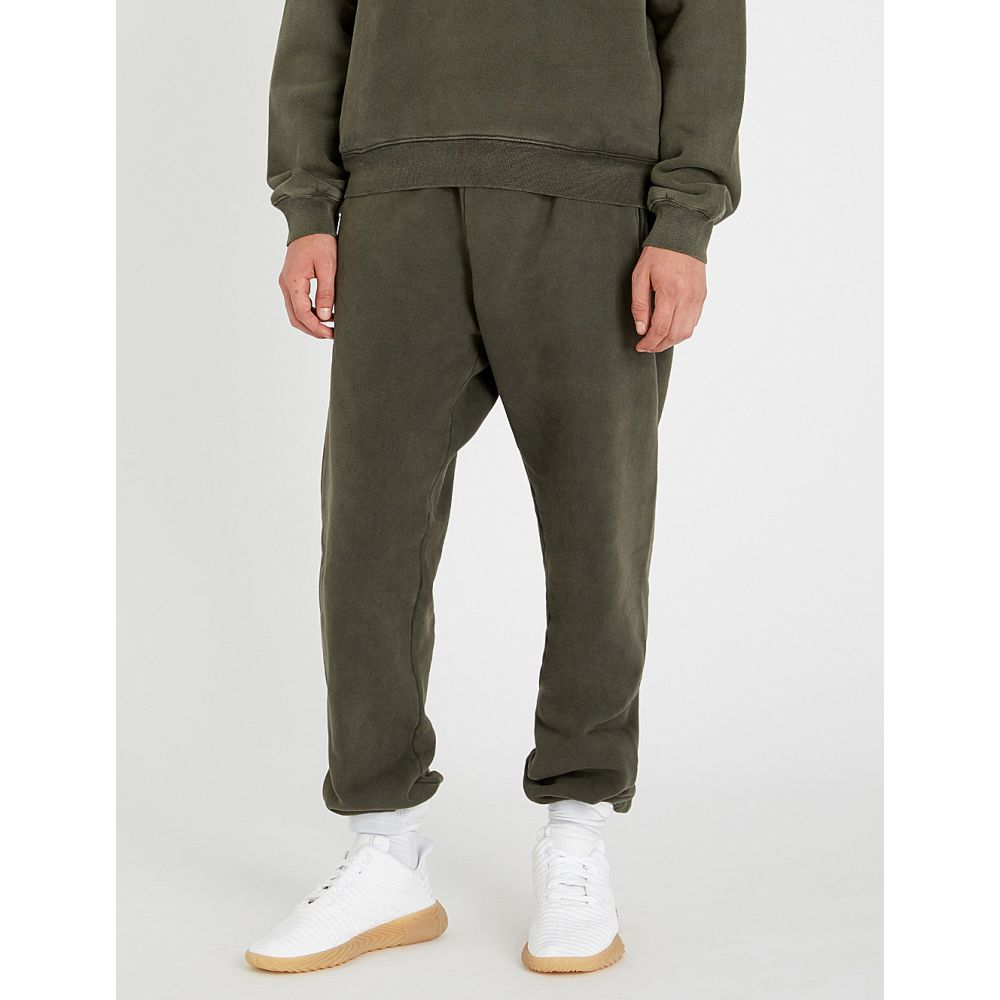 アディダス イージー yeezy メンズ ボトムス・パンツ【season 6 cotton-fleece jogging bottoms】Core