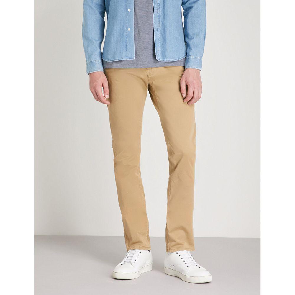 ヌーディージーンズ nudie jeans メンズ ボトムス・パンツ スキニー・スリム【slim adam slim-fit tapered stretch organic-cotton trousers】Beige