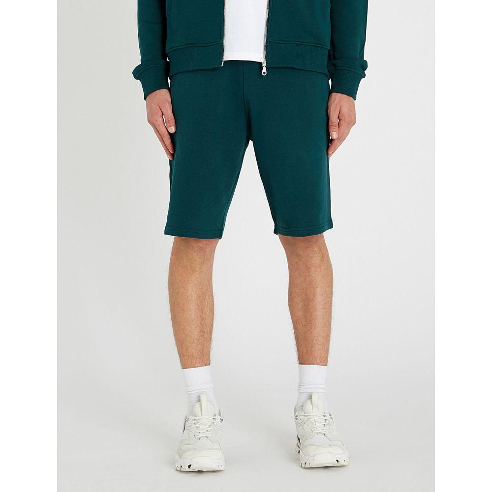ケンゾー kenzo メンズ ボトムス・パンツ ショートパンツ【logo-print cotton-jersey shorts】Pine green