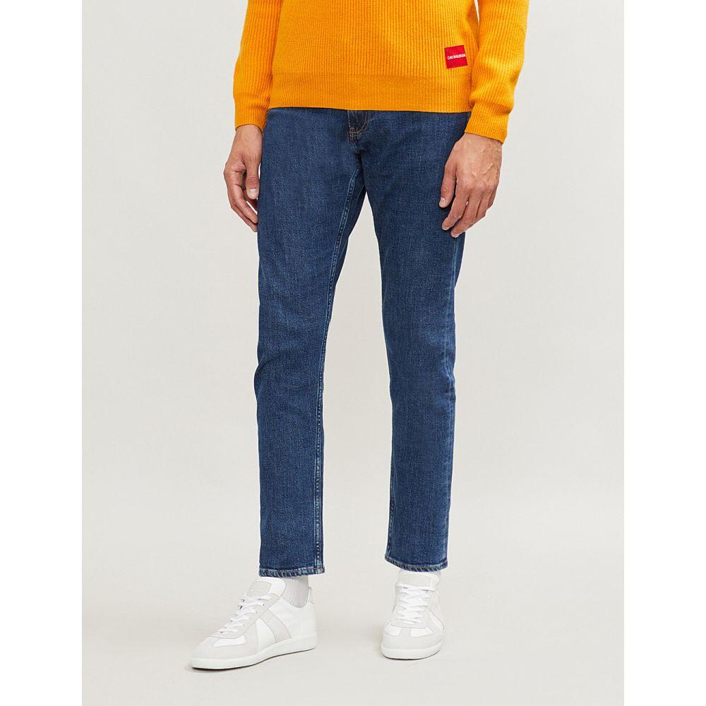 カルバンクライン ck jeans メンズ ボトムス・パンツ ジーンズ・デニム【ckj 025 slim-fit straight jeans】Rodeo blue