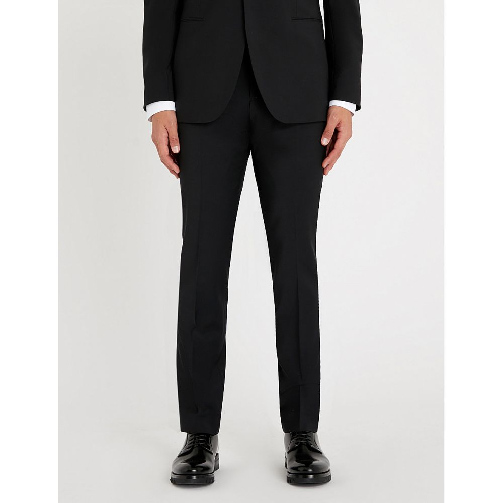 リース reiss メンズ ボトムス・パンツ スラックス【belief modern-fit wool-blend trousers】Black
