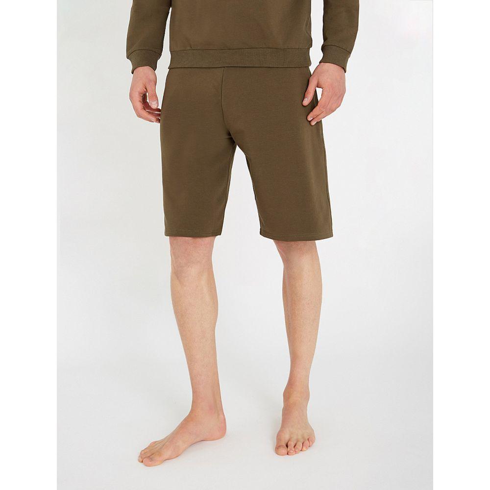 モスキーノ moschino メンズ ボトムス・パンツ ショートパンツ【tape-detail stretch-cotton shorts】Khaki