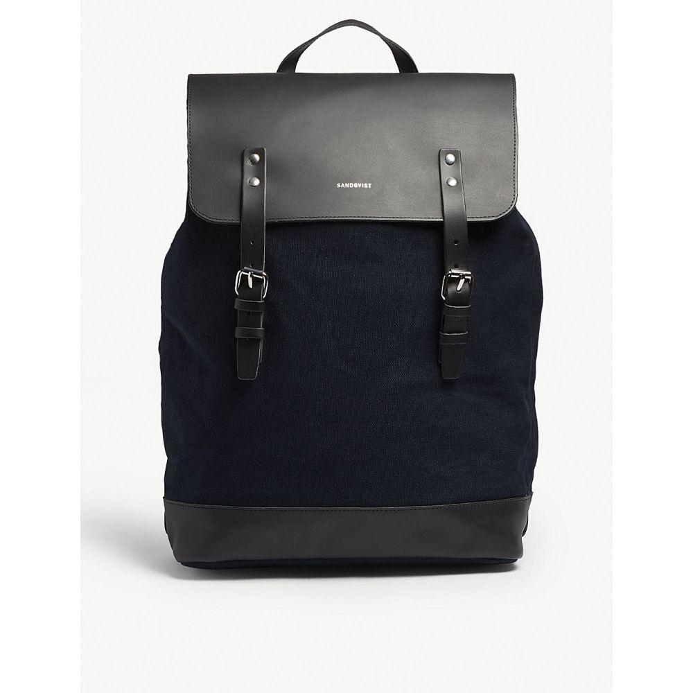 サンドクヴィスト sandqvist メンズ バッグ バックパック・リュック【hege canvas backpack】Blue
