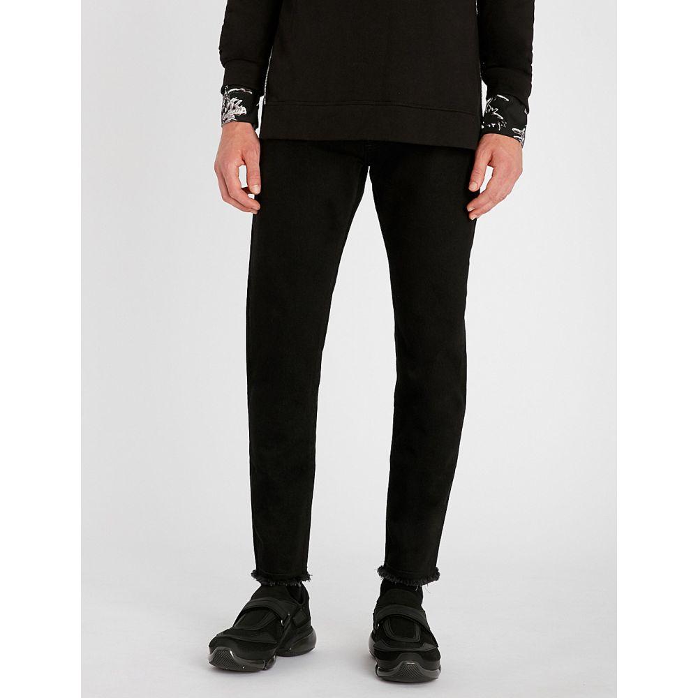 リプレゼント represent メンズ ボトムス・パンツ ジーンズ・デニム【relaxed relaxed-fit tapered jeans】Black