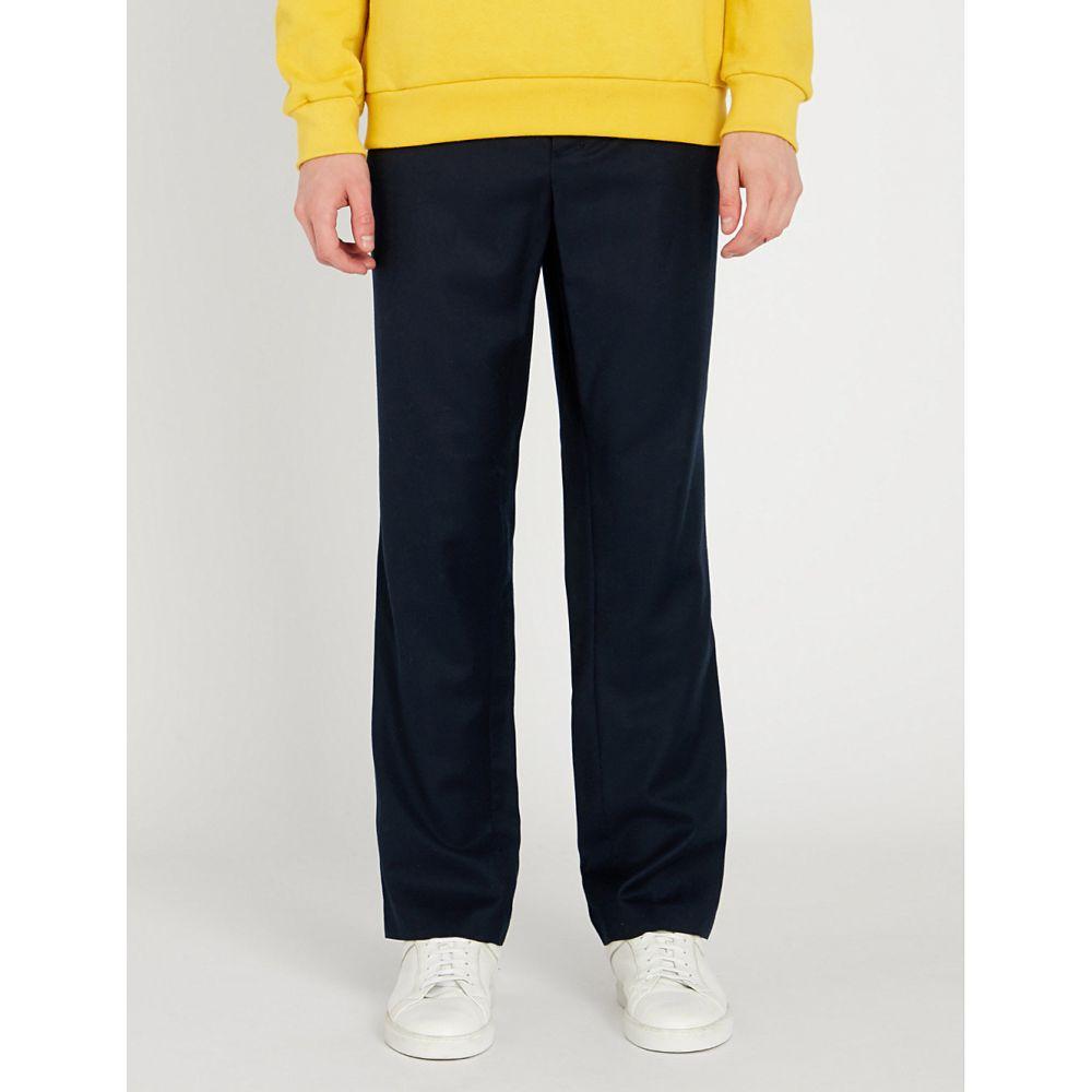 アミアレクサンドルマテュッシ ami alexandre mattiussi メンズ ボトムス・パンツ スラックス【regular-fit straight wool trousers】Navy/