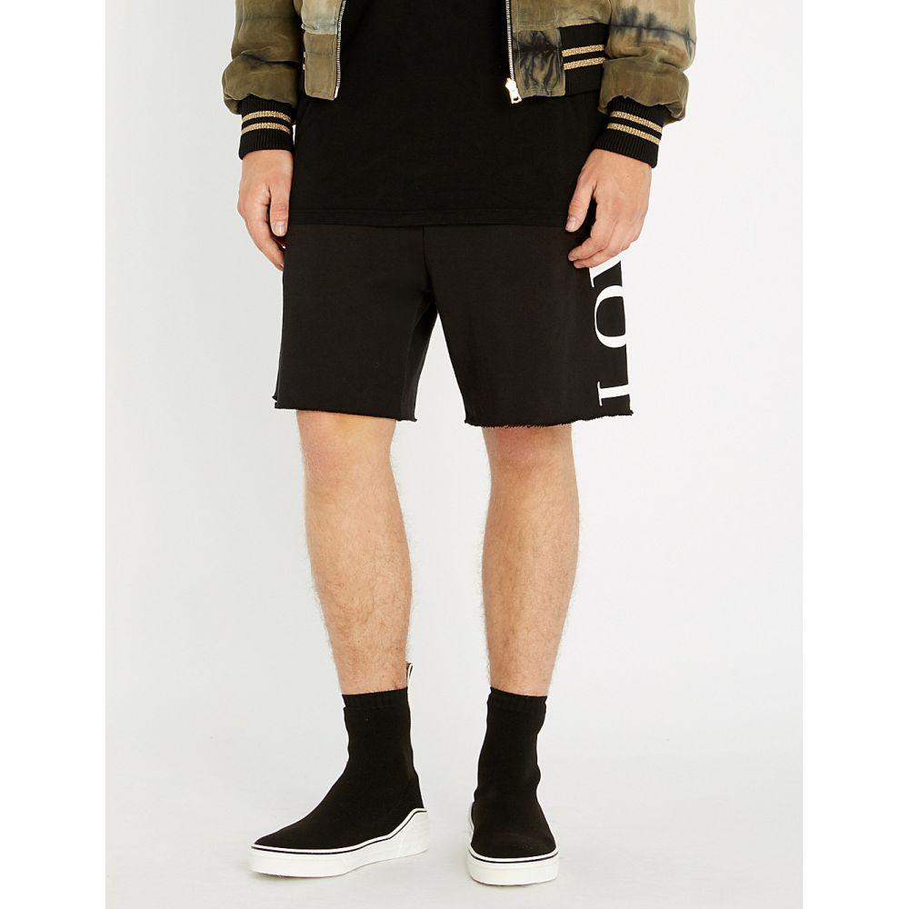 アミリ amiri メンズ ボトムス・パンツ ショートパンツ【lovers cotton-jersey shorts】Black