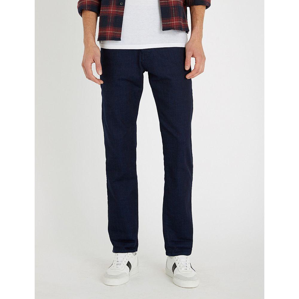 テッドベーカー ted baker メンズ ボトムス・パンツ ジーンズ・デニム【shandal straight jeans】Dark wash