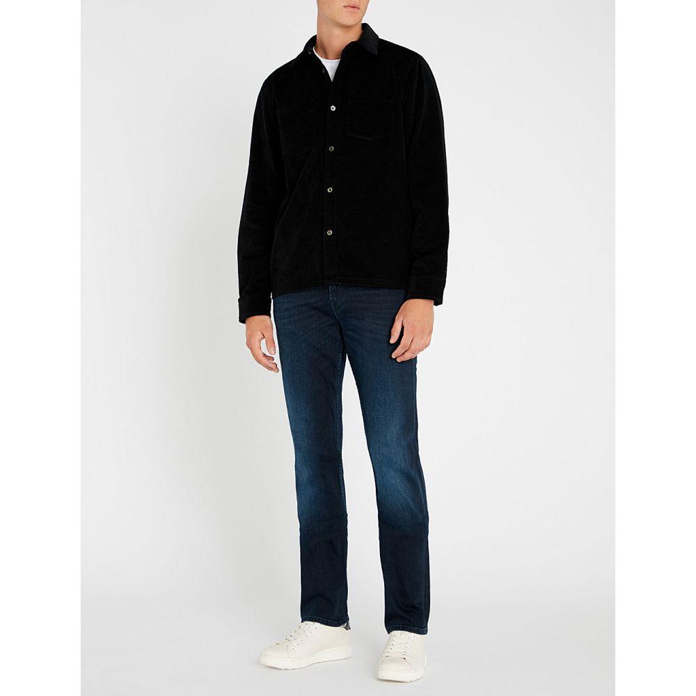 セブン フォー オール マンカインド 7 for all mankind メンズ ボトムス・パンツ ジーンズ・デニム【slimmy luxe performance slim-fit tapered jeans】Dark blue