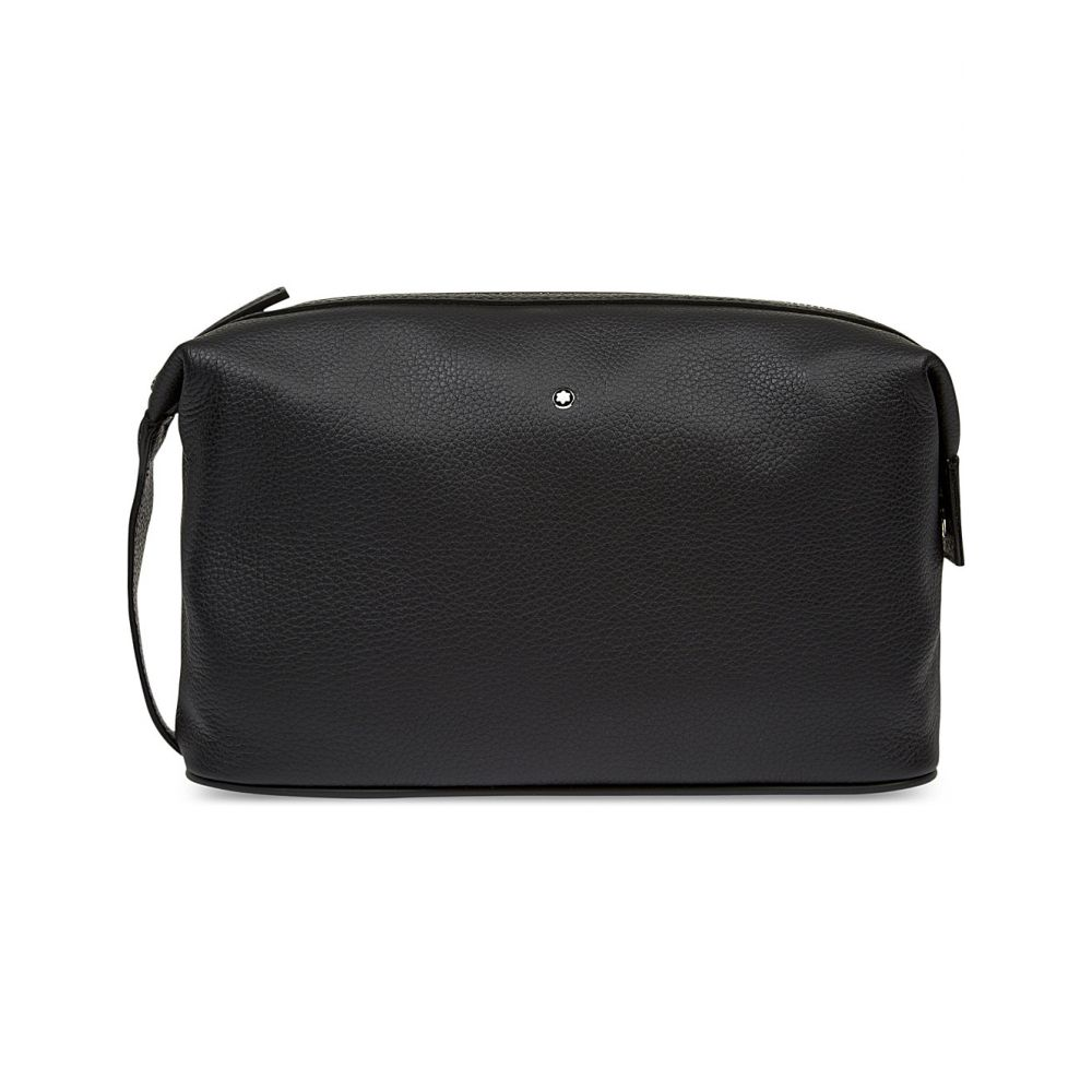 モンブラン montblanc メンズ ポーチ【meisterstuck soft grain leather wash bag】Black