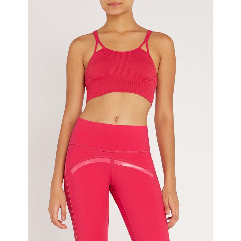 アディダス adidas by stella mccartney レディース インナー・下着 スポーツブラ【seamless stretch-jersey sports bra】Bold pink