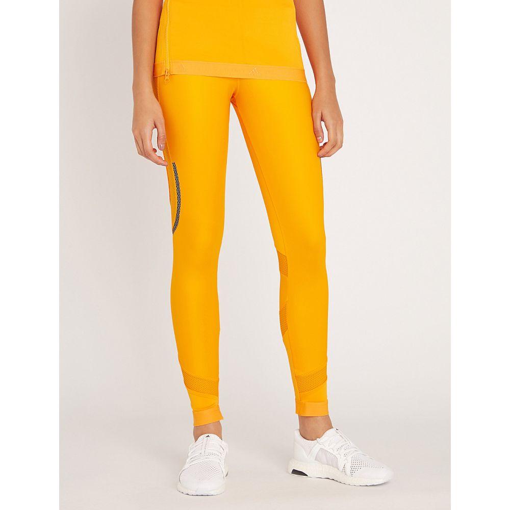 アディダス adidas by stella mccartney レディース インナー・下着 スパッツ・レギンス【run long jersey leggings】Lucky orange s