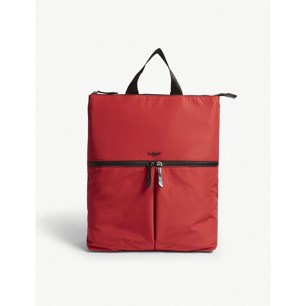 クノモ knomo レディース バッグ トートバッグ【dalston reykjavik tote bag】Poppy red