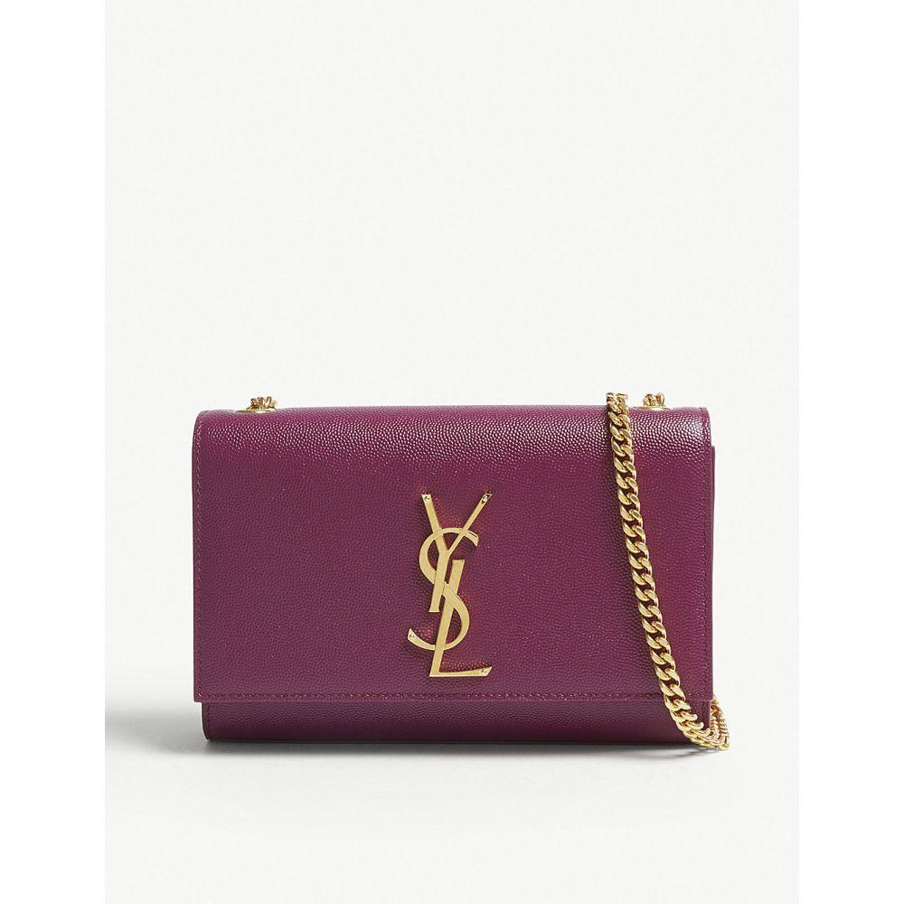イヴ サンローラン saint laurent レディース バッグ ショルダーバッグ【kate monogram leather shoulder bag】Pivoine