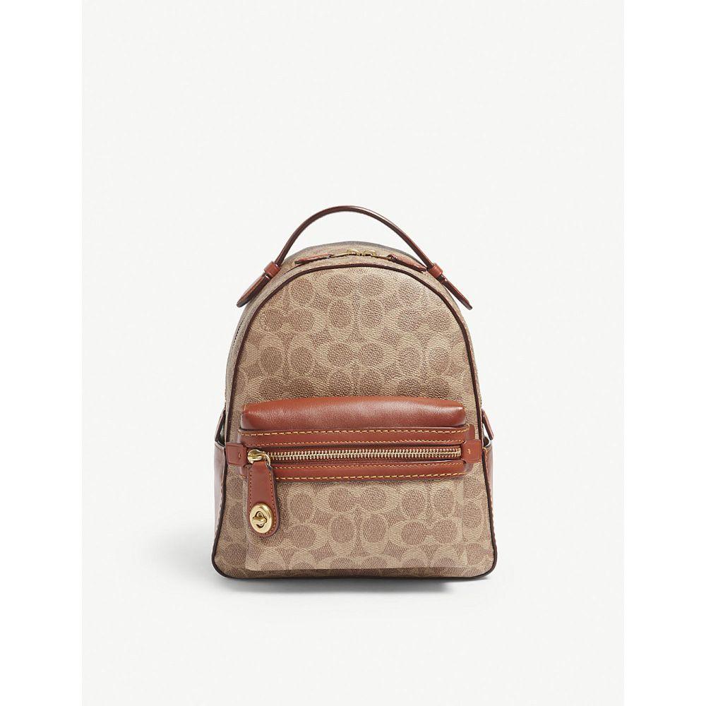 コーチ coach レディース バッグ バックパック・リュック【campus glovetanned leather backpack】B/tan rust