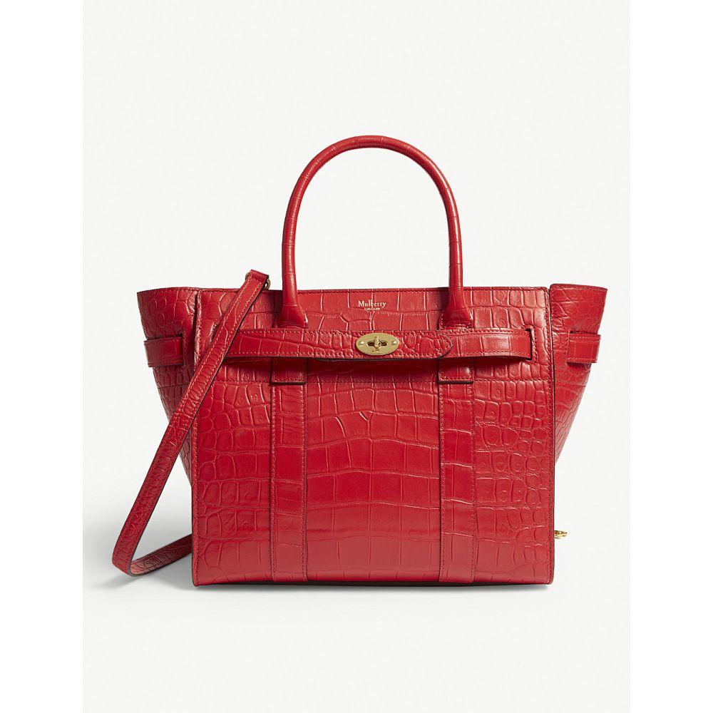 マルベリー mulberry レディース バッグ トートバッグ【bayswater small leather tote】Ruby red