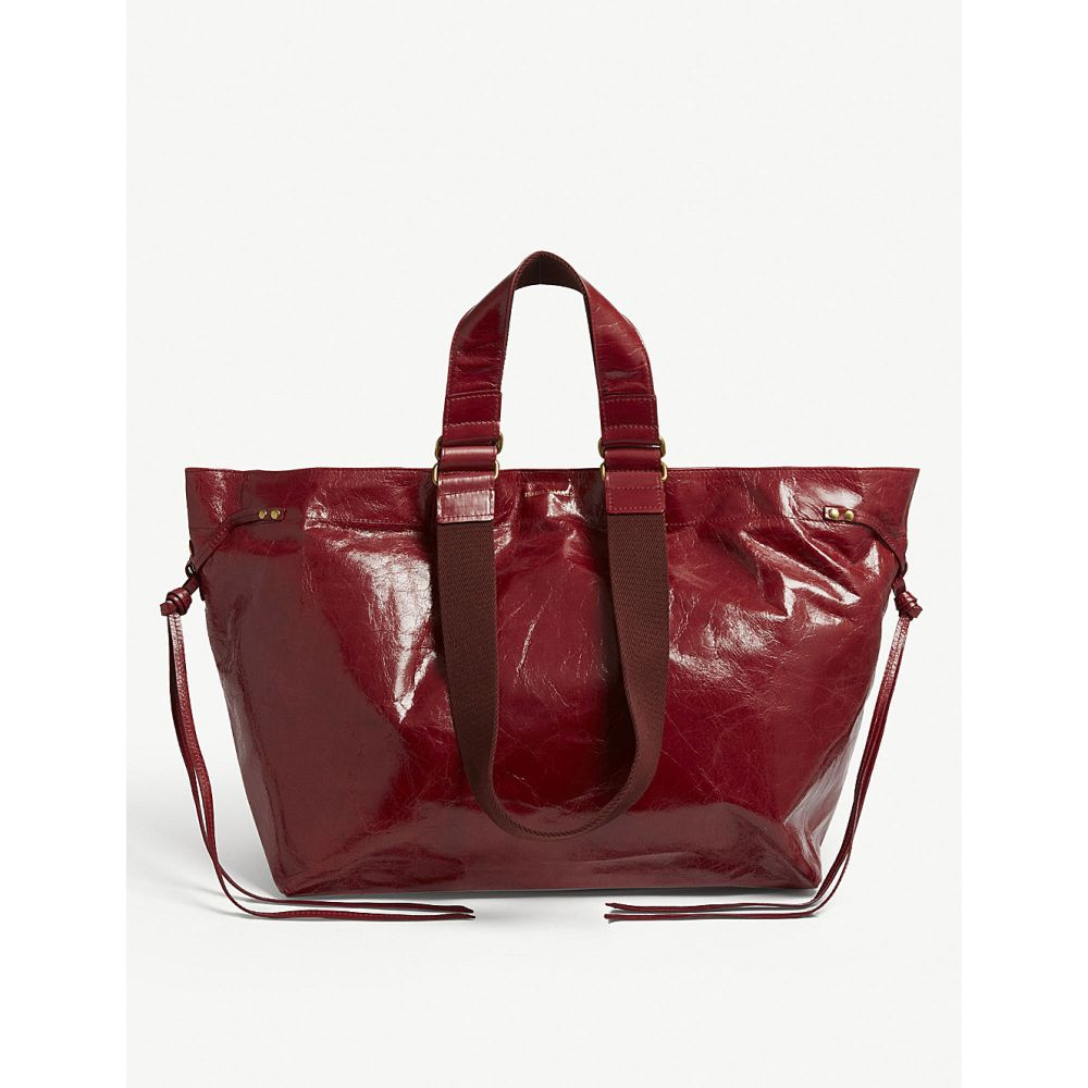 イザベル マラン isabel marant レディース バッグ トートバッグ【leather tote】Raspberry