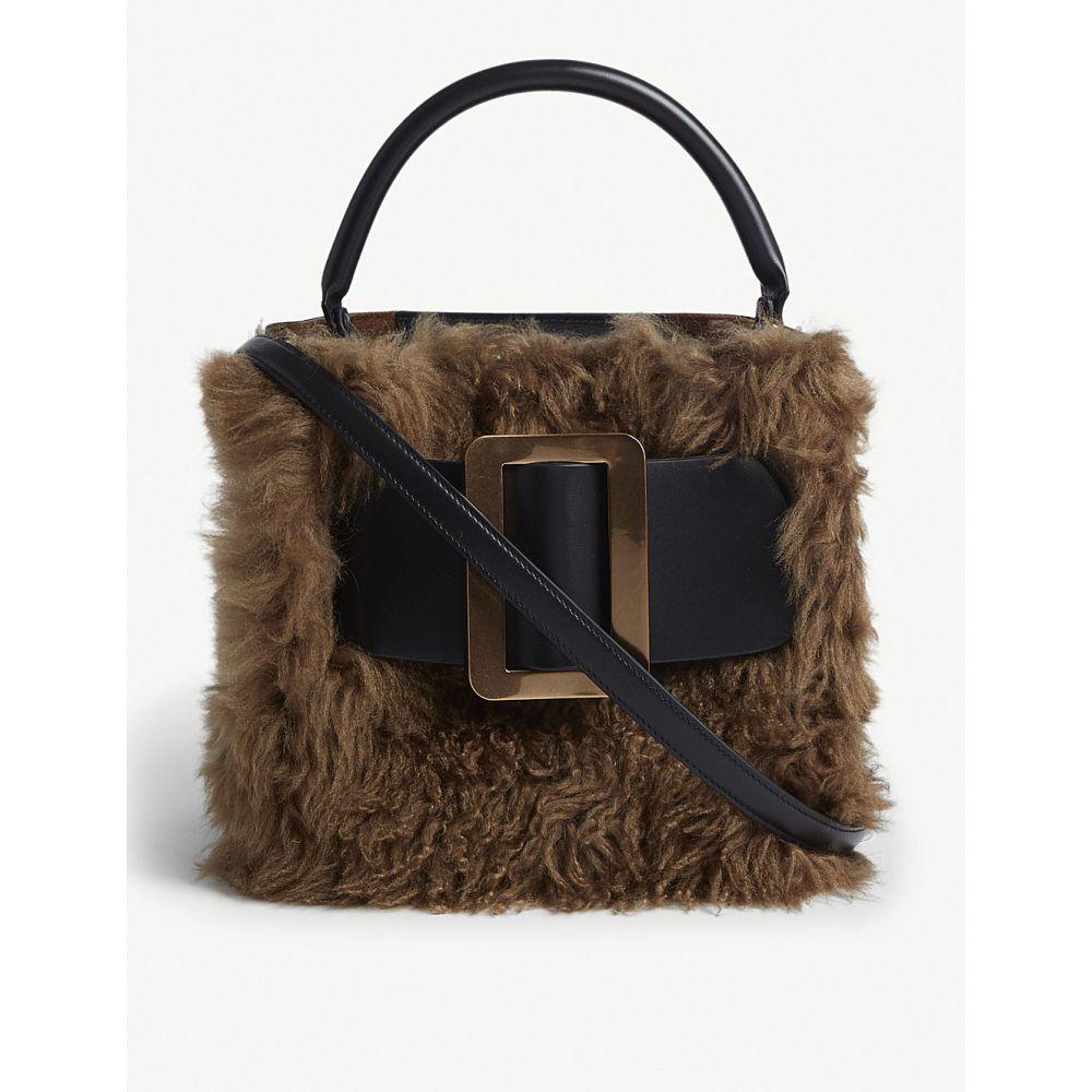ボーイ boyy レディース バッグ ショルダーバッグ【devon shearling and leather shoulder bag】Black bison