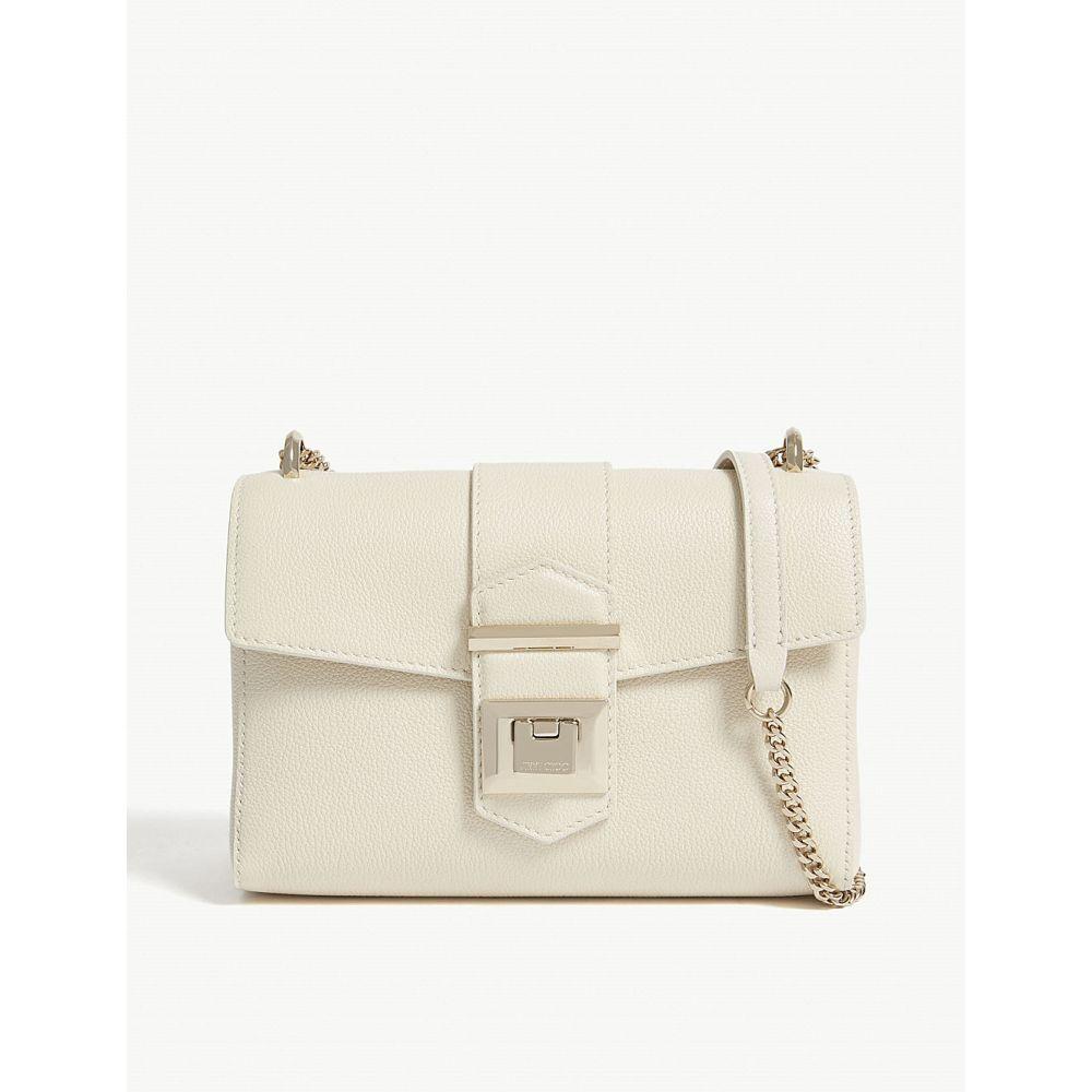 ジミー チュウ jimmy choo レディース バッグ ショルダーバッグ【marianne small leather cross-body bag】Linen