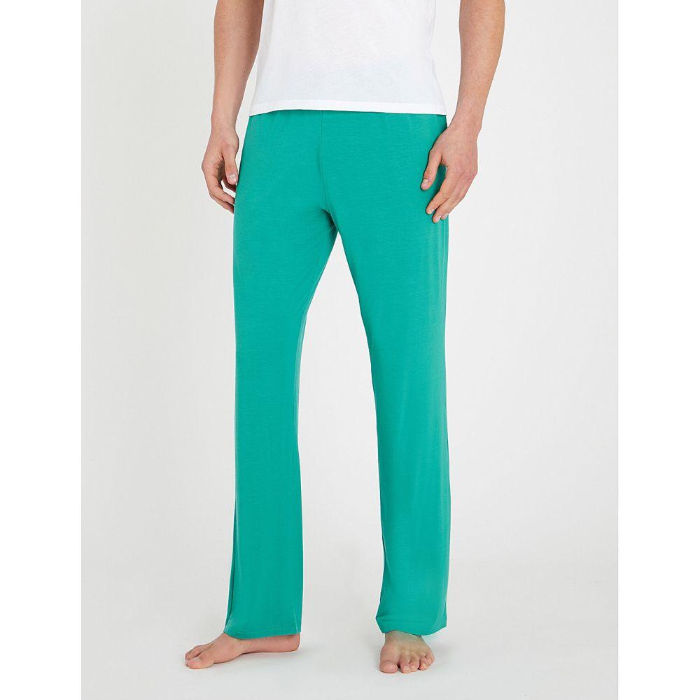 デリック ローズ derek rose メンズ インナー・下着 パジャマ・ボトムのみ【basel stretch-jersey pyjama bottoms】Gre