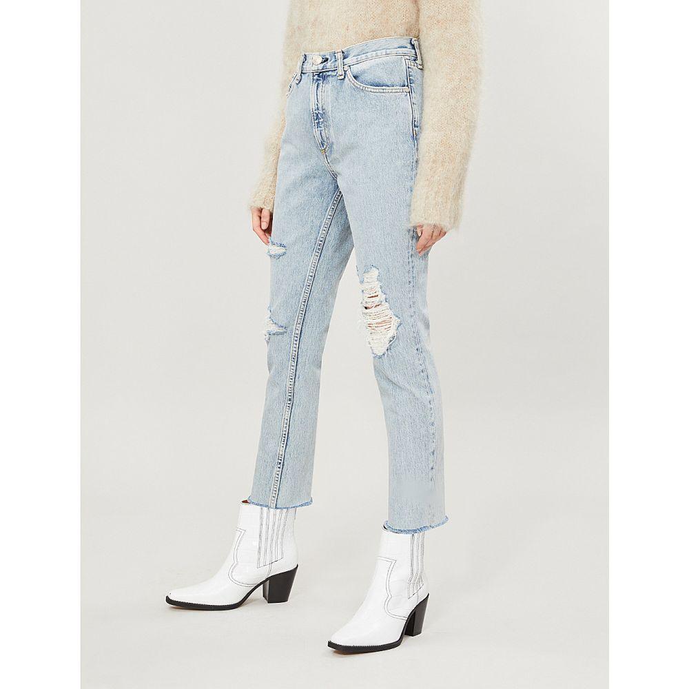 ラグ&ボーン rag & bone レディース ボトムス・パンツ ジーンズ・デニム【high-rise ripped faded skinny jeans】Madison