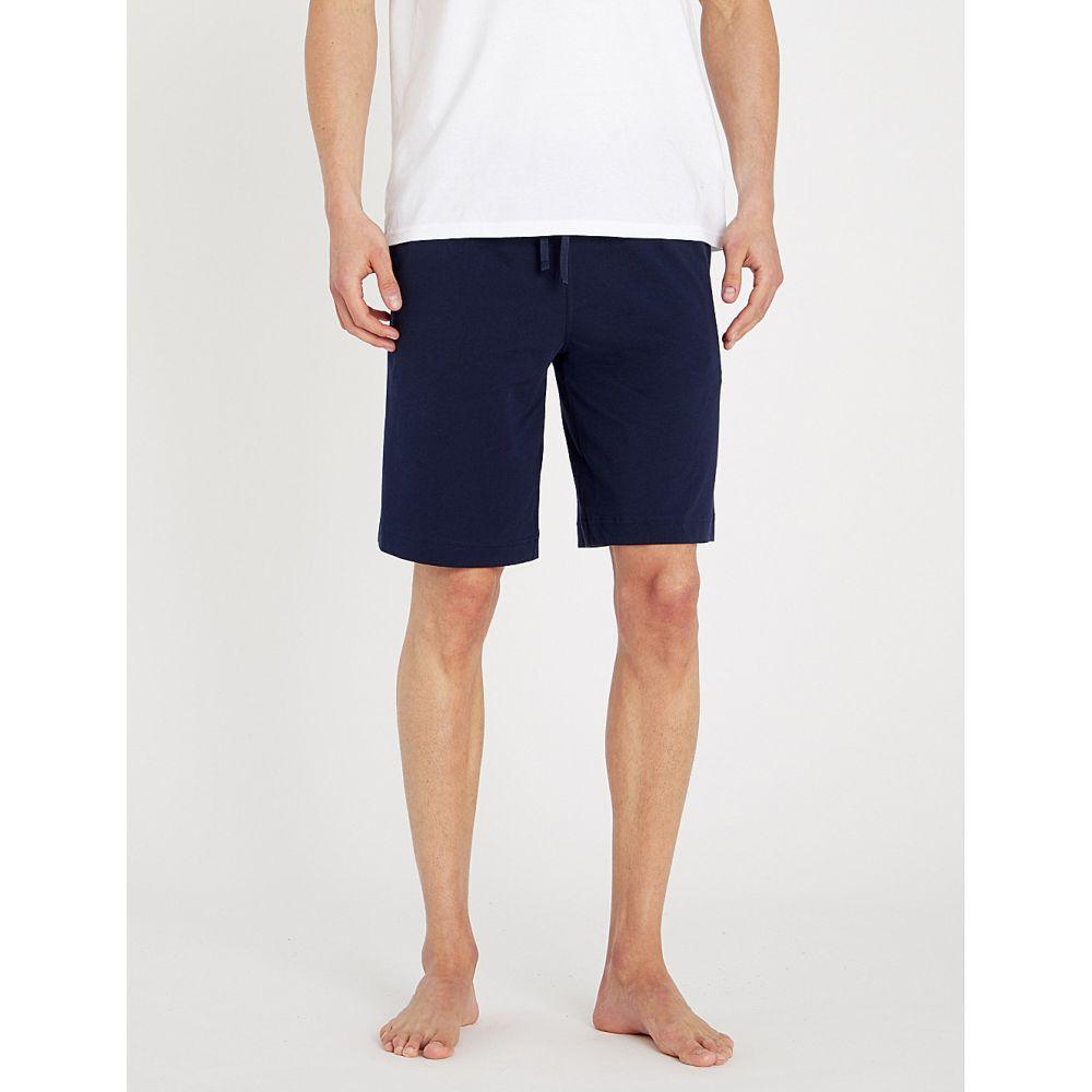ラルフ ローレン polo ralph lauren メンズ インナー・下着 パジャマ・ボトムのみ【cotton-jersey pyjama shorts】Cruise navy