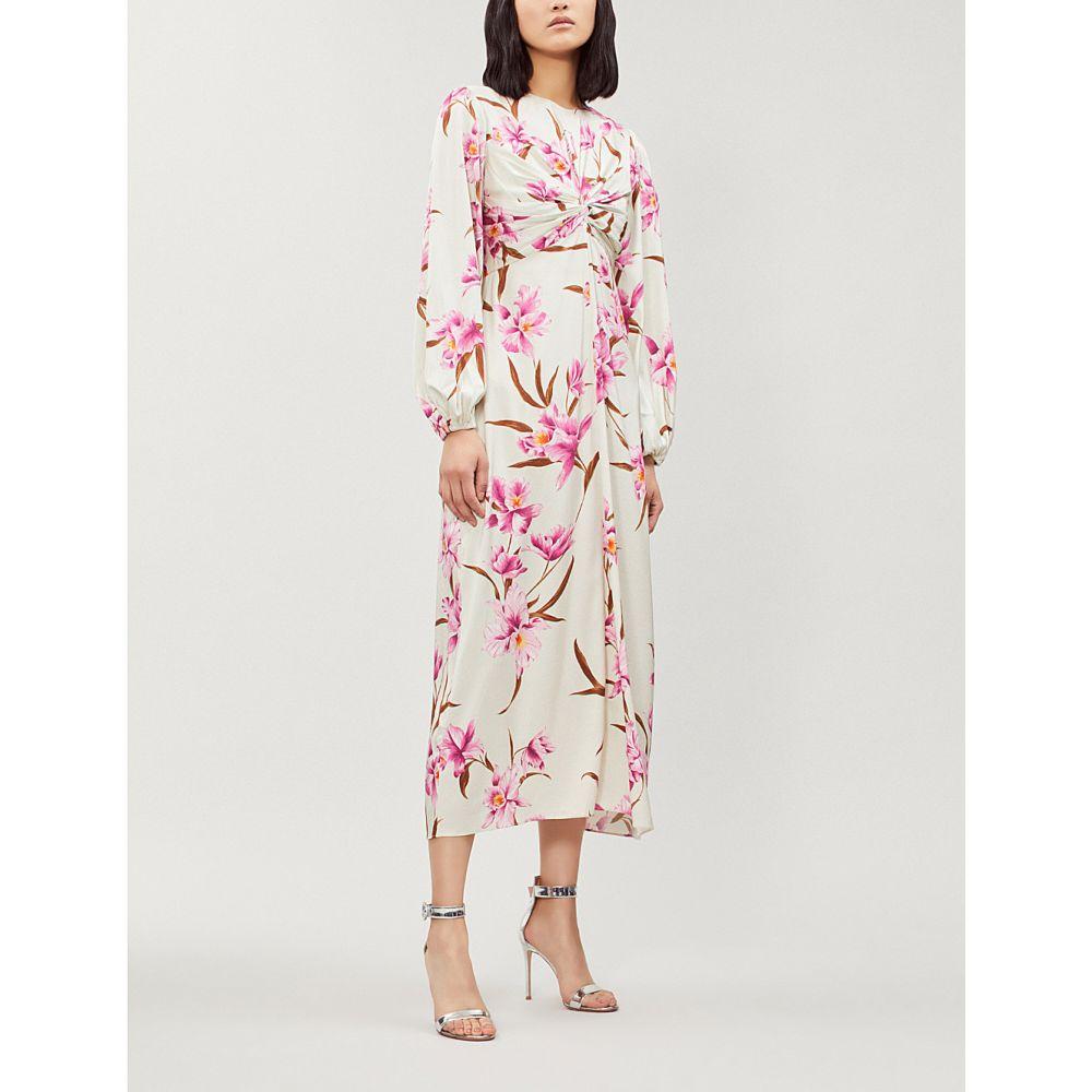 ジマーマン zimmermann レディース ワンピース・ドレス パーティードレス【corsage stretch-silk dress】Sage fchs
