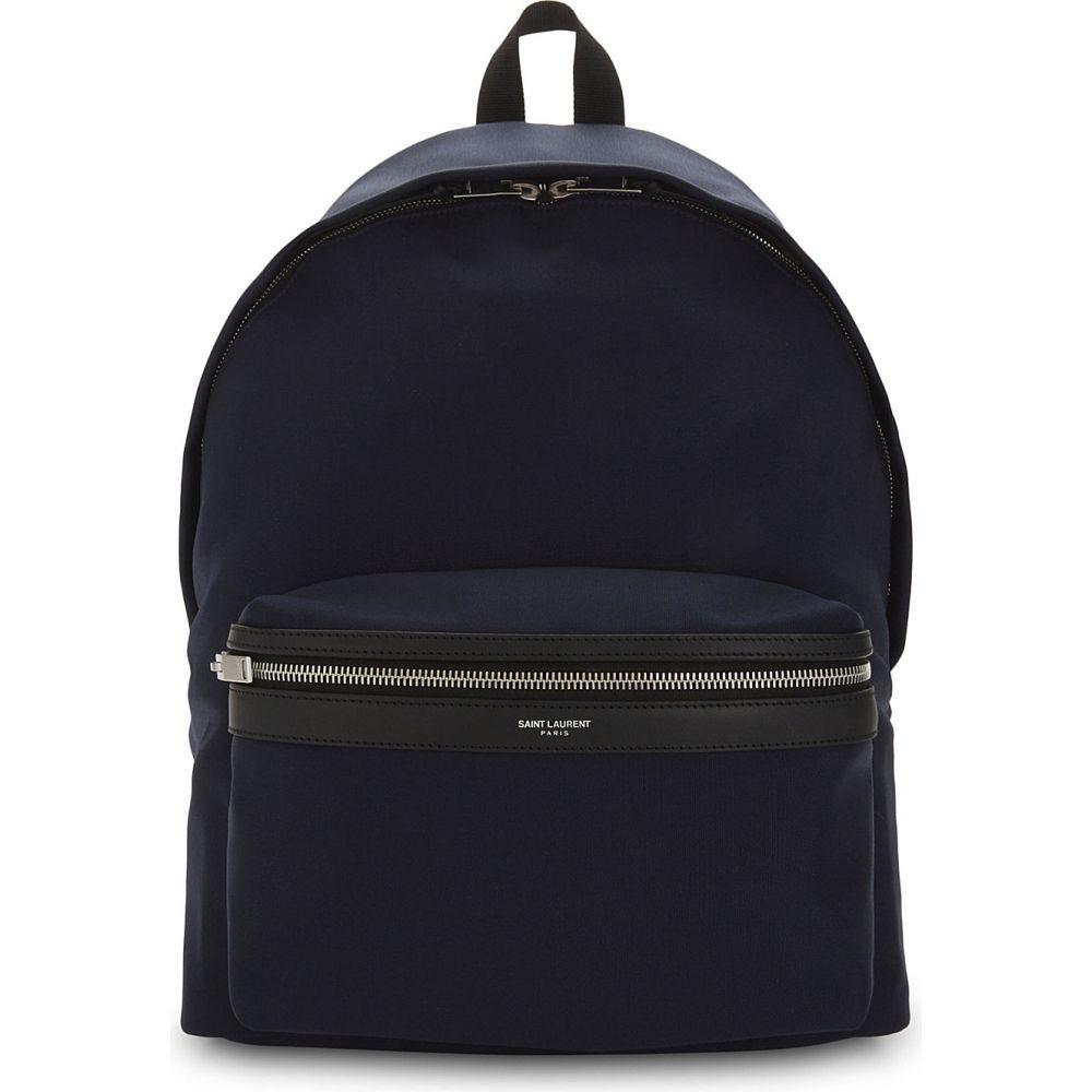イヴ サンローラン saint laurent メンズ バッグ バックパック・リュック【city nylon backpack】Navy