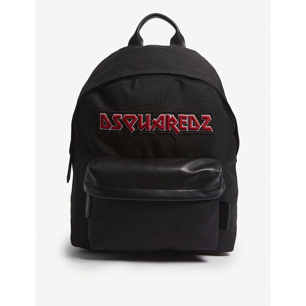 ディースクエアード dsquared2 acc メンズ バッグ バックパック・リュック【metal logo medium canvas backpack】Nero