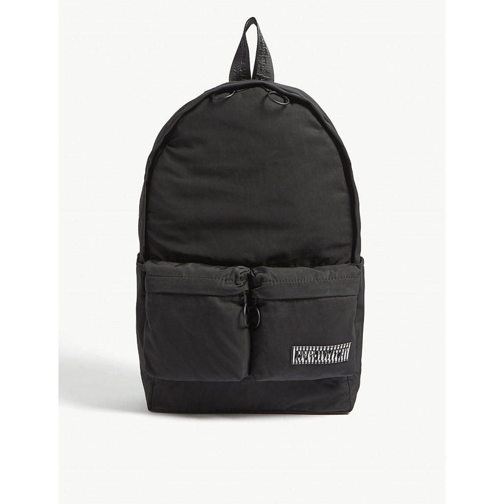オフホワイト off-white c/o virgil abloh メンズ バッグ バックパック・リュック【backpack】Black
