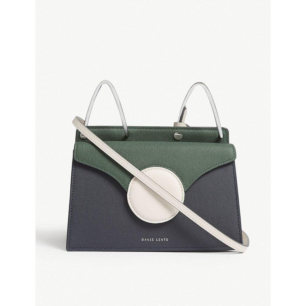ダンスレンテ danse lente レディース バッグ ショルダーバッグ【phoebe mini leather cross-body bag】Pine-marine