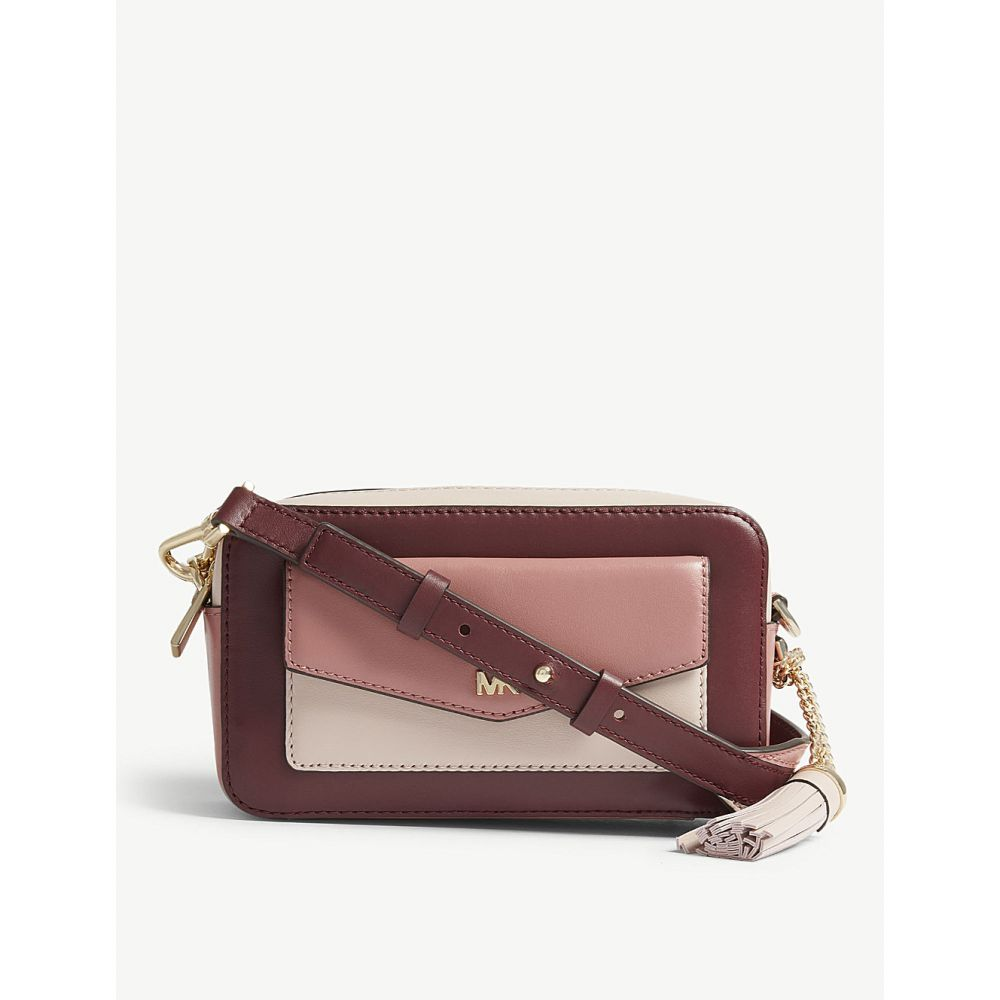マイケル コース michael michael kors レディース バッグ【leather small cross-body camera bag】Rose multi
