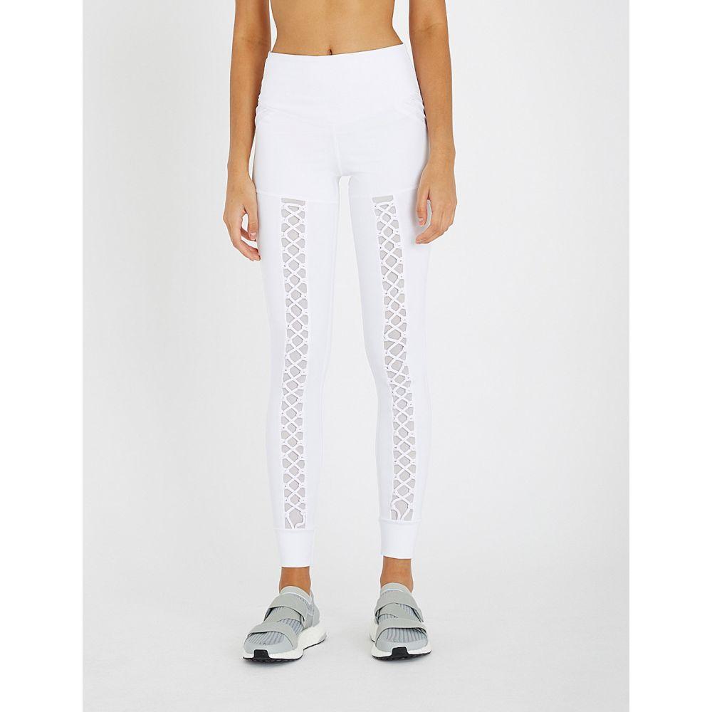 ラーブ lurv レディース インナー・下着 スパッツ・レギンス【heavens open mesh-panel stretch-jersey leggings】White
