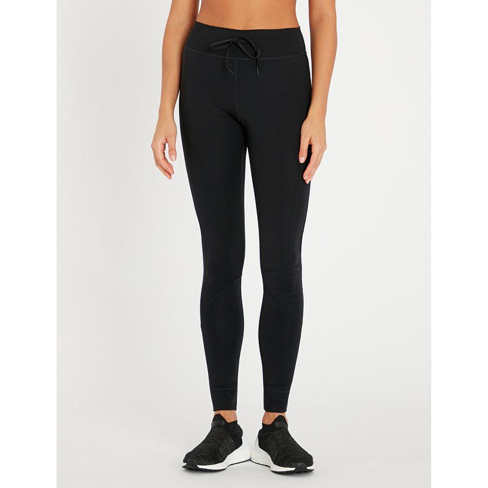 ジアップサイド the upside レディース インナー・下着 スパッツ・レギンス【matte high-rise stretch-jersey leggings】Black