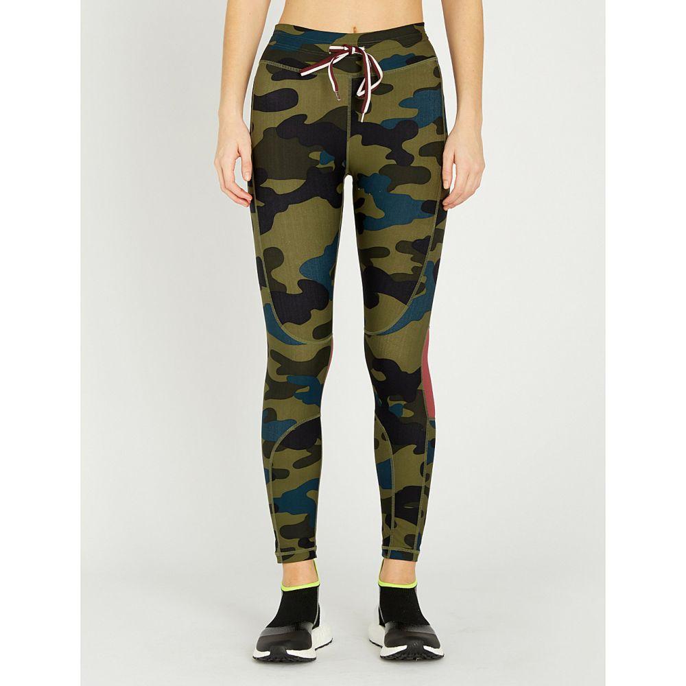 ジアップサイド the upside レディース インナー・下着 スパッツ・レギンス【army camo cropped high-rise printed stretch-jersey leggings】Army camo