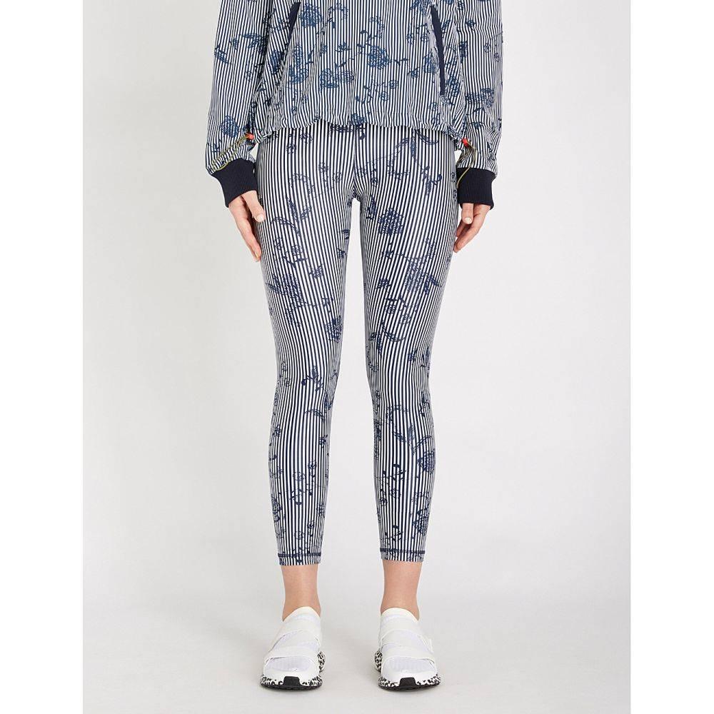 ジアップサイド the upside レディース インナー・下着 スパッツ・レギンス【florence skinny cropped stretch-jersey leggings】Navy white