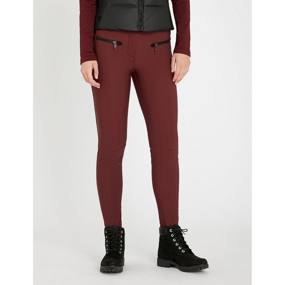 ゴールドバーグ goldbergh レディース スキー・スノーボード ボトムス・パンツ【paris mid-rise slim-fit stretch-shell ski trousers】Grappa