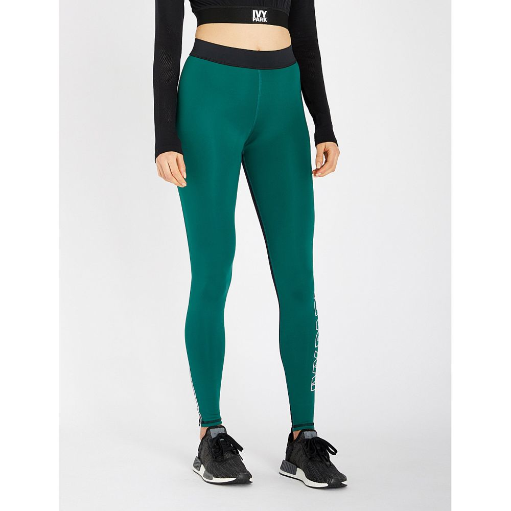 アイビーパーク ivy park レディース インナー・下着 スパッツ・レギンス【high-rise stretch-jersey leggings】Forest green
