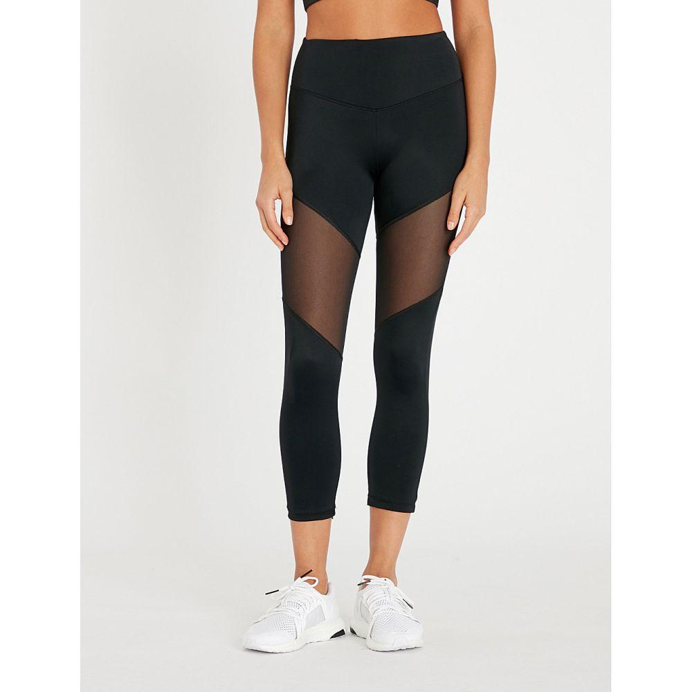 ラーブ lurv レディース インナー・下着 スパッツ・レギンス【natural forces stretch-jersey leggings】Black