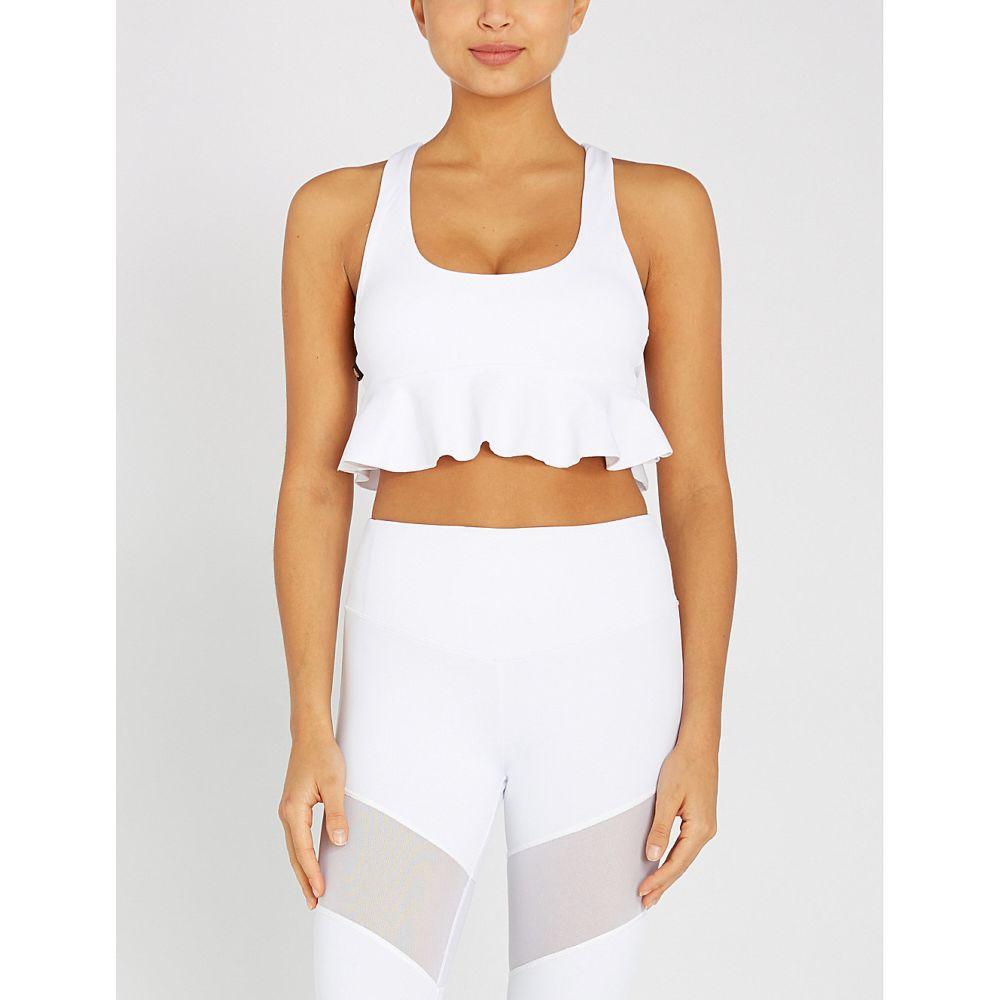 ラーブ lurv レディース インナー・下着 スポーツブラ【just for frills stretch-jersey sports bra】White