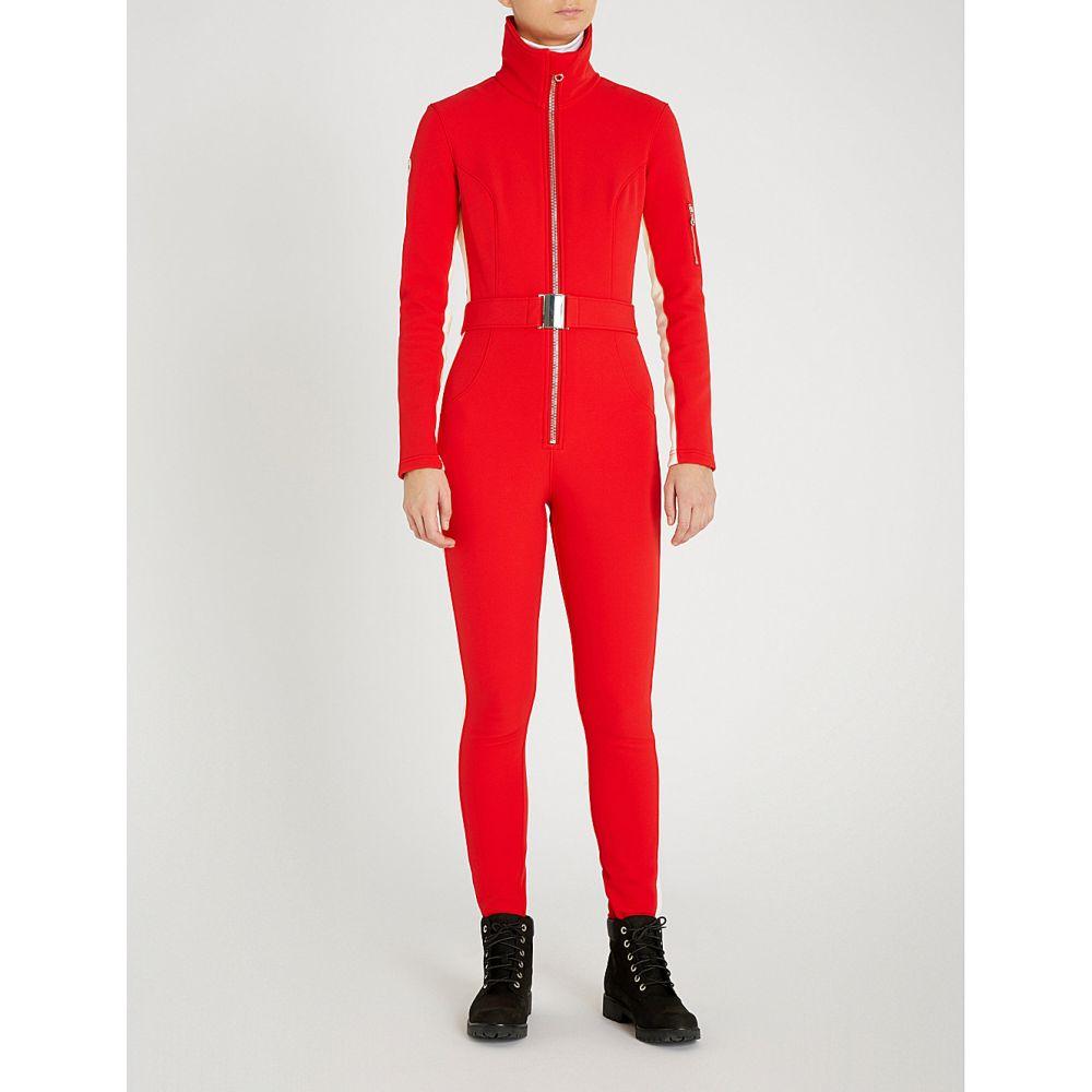 コルドバ cordova レディース スキー・スノーボード トップス【aspen stretch-shell ski jumpsuit】Fiery red