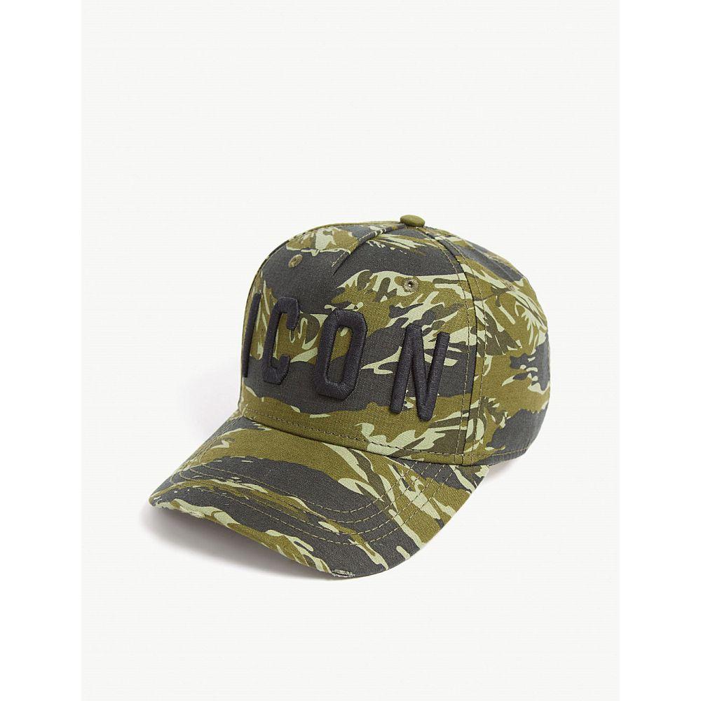 ディースクエアード dsquared2 acc メンズ 帽子 キャップ【icon camo cap】Camouflage